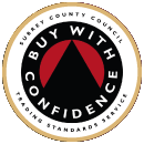 Buy with confidence badge