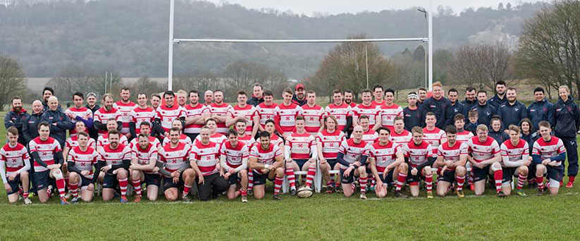 Dorking Rugby Football Club team photo